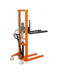 UNI6151016 - Carrello Elevatore Modello GHHW 1000 - Portata 1 T - Altezza Di Sollevamento 1600 Mm - 1