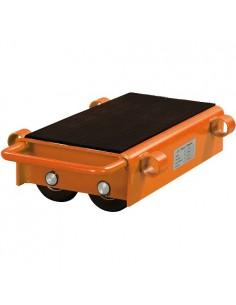 UNI6192120 - Pattini A Rulli Regolabili Modello VTR 12 - Portata 12 T - Kit 2 Pezzi - 1