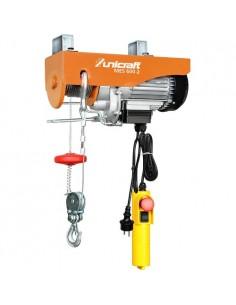 UNI6198260 - Mini Argano Elettrico Modello MES 600-2 - Potenza Di Sollevamento Senza-Con Puleggia 300-600 kg - 1
