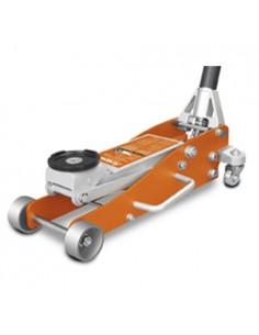 UNI6201110 - Cric A Carrello In Alluminio Modello RWHA 1505 - Portata 1,5 T - Dimensioni 576x250x154 Mm - 1