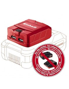 Adattatore USB a batteria...