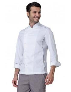 Giacca Chef Profilo Tortora...