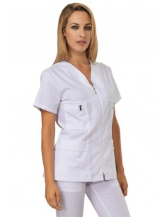 Casacca Donna Bianco Wolly...
