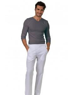 Pantaloni Uomo Bianco...