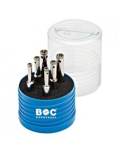 BOC27031430006 - Assortimento Punte Per Piastrelle BASIC Con Attacco Cilindrico (9,5 Mm) - 6 Pezzi - 1