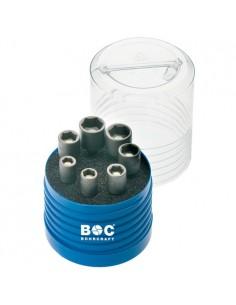 """BOC65001430007 - Assortimento Bussole Magnetiche Attacco 1/4"""" Esagonale - 7 Pezzi - 1"""