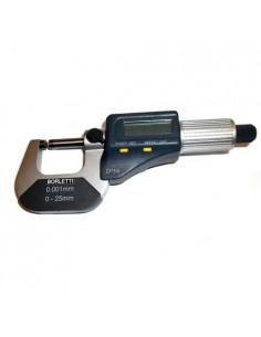 BORMDE1 - Micrometro Millesimale Elettronico Digitale Per Esterni - Campo Di Misura 0-25 Mm - 1