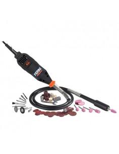 FERCTM1010 - Mini Smerigliatice Con Albero Flessibile 160W - Velocità A Vuoto 15000-35000 Giri/Min - Completa Di Accessori - 1
