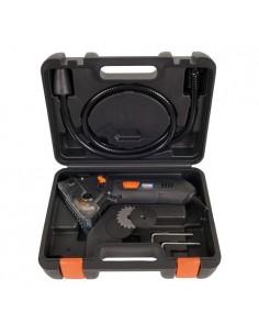 FERCSM1038 - Sega Circolare Di Precisione 400 W - Velocità A Vuoto 4200 Giri/Min - Ø Lama 54,8Mm - Peso 3Kg - Puntatore Laser -  2