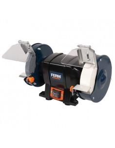 FERBGM1020 - Molatrice Da Banco 250W - Dimensioni Mola 150x20 Mm - Velocità A Vuoto 2950 Giri/Min - 1 2