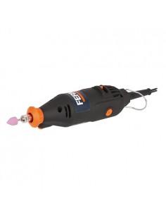 FERCTM1012 - Mini Smerigliatrice 160W - Velocità A Vuoto 15000-35000 Giri/Min - Completa Di 40 Accessori - 1