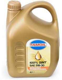Olio Tamoil 100% SINT 5W30...