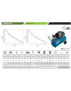 Compressore industriale a secco Gentilin COMPACT CK330/100 2