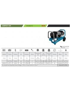 Compressore industriale a secco Gentilin COMPACT EK480/10 2