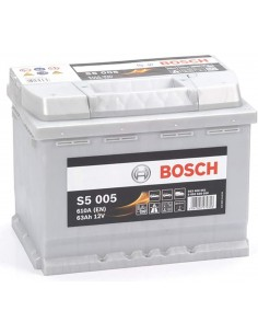 BOSCH BATTERIA S5005 (63AH DX)