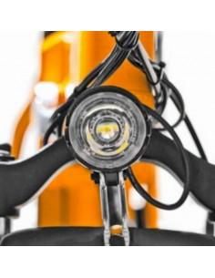 Bicicletta elettrica rossa con pedalata assistita Vinco 2