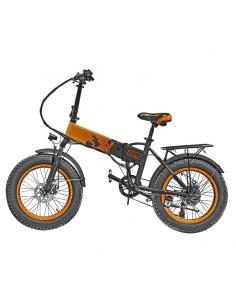 Bicicletta elettrica Arancione con pedalata assistita Vinco