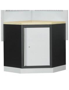 Angolo per arredamento modulare da officina Fervi A007F