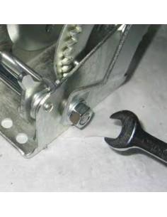 Argano manuale zincato Fervi 0070 2