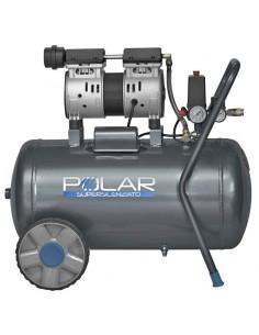 Compressore silenziato Polar KWU750-50L Oil Free 50L - 1