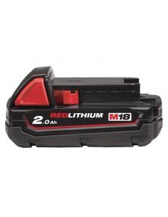 Batteria RedLithium 2.0Ah Milwaukee M18 B2