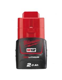 Batteria RedLithium 2.0Ah Milwaukee M12 B2 - 1