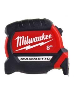Flessometro 8m Magnetico Milwaukee Serie Premium