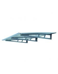 Pensilina di alluminio Blinky IRIS 95x190 cm 2