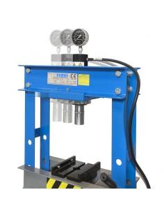 Pressa manuale idraulica da banco Fervi P001/30 2
