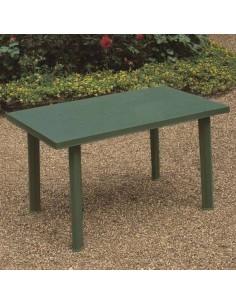Tavolo rettangolare in PP Verde 126x76 cm 2