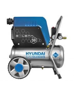 Compressore Oil-Free Silenziato Carenato 24L HYUNDAI 65710 KWU750-24L - 1