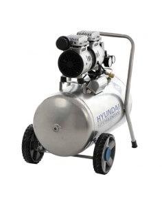 Compressore Oil-Free Silenziato 50lt Hyundai 65701 KWU750-50L - 1 2