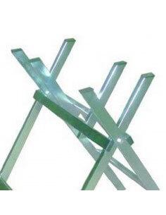 Cavalletto taglialegna in acciaio Mod. Semplice Vigor 46200-10 - 1 2