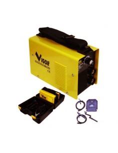 Saldatrici Vigor inverter 140 con kit valigetta e accessori - 1
