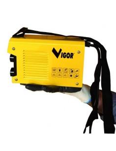 Saldatrice inverter 125A professionale saldatura fabbro + elettrodi Vigor Compact - 1 2