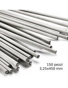 Elettrodi per saldatura HU-Firma HU-41 rutilici 150 pezzi 3,25x450 mm - 1