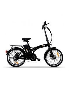 """Bicicletta elettrica pieghevole NERA con pedalata assistita 20"""" 250w EASY THE ONE - 1"""