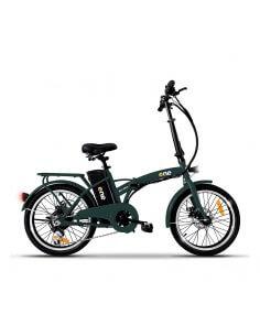 """Bicicletta elettrica pieghevole VERDE con pedalata assistita 20"""" 250w EASY THE ONE - 1"""