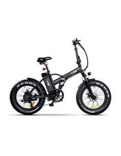 "Bicicletta elettrica pieghevole a pedalata assistita ruote 20x4.0"" motore 250W Brushless RIDER THE ONE - 1"
