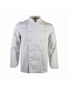 Giacca da cuoco Unisex Bianca COTONE 100% Step One Siggi Group - 1