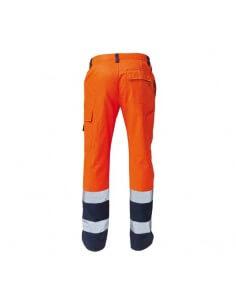 Pantalone bicolore  AV arancione/blu Siggi STEP ONE - 1 2