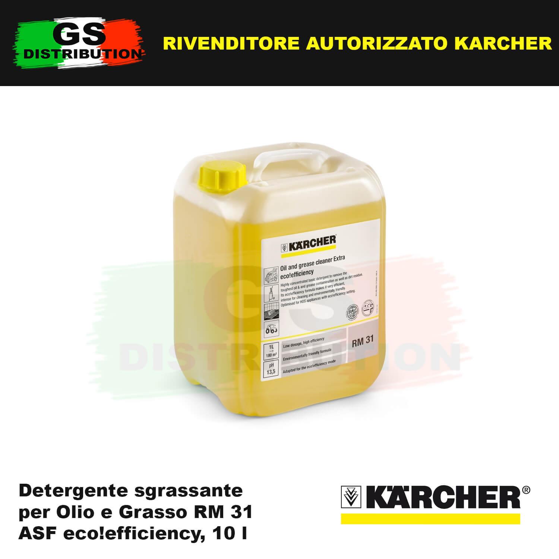 Detergente sgrassante per Olio e Grasso