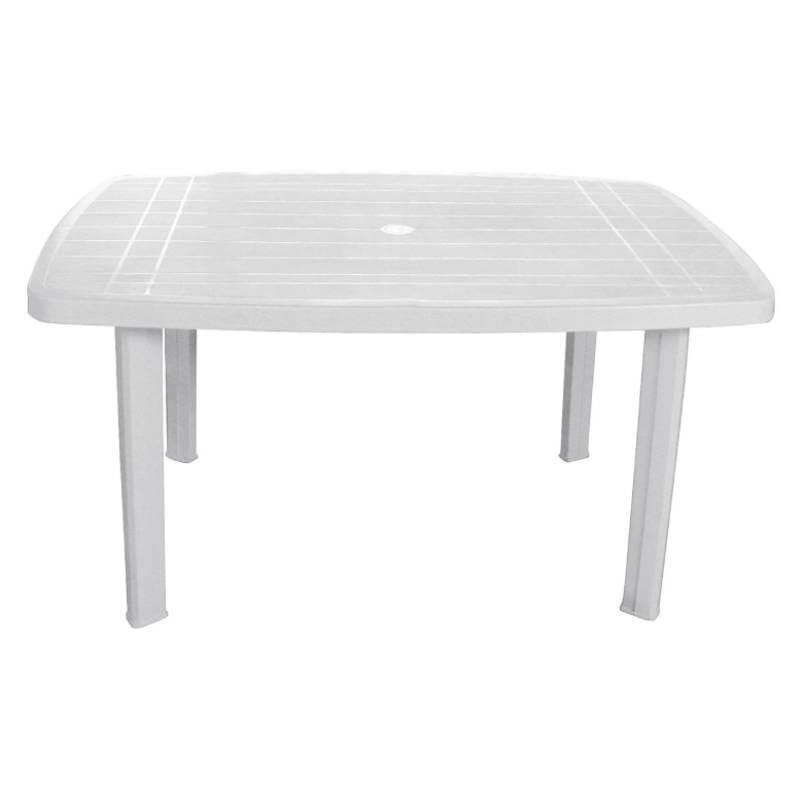 Tavolo faro ovale bianco 85x137 cm